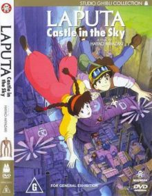 Небесный замок Лапута / Laputa: Castle in the Sky (1986) DVDRip-AVC