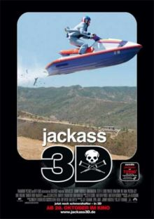 Чудаки 3D [Расширенная версия] / Jackass 3D [UNRATED] (2010/DVDRip/ENG)