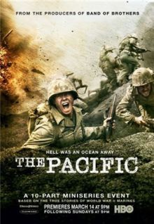 Тихий океан / The Pacific (2010) HDTVRip / 650 Mb